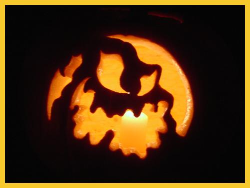 Oogie boogie pumpkin stencil imgkid the image